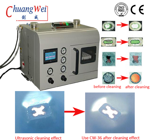 Automatic Nozzle Washing Machine Efficient Nozzle Cleaner Equipment, CW-C36