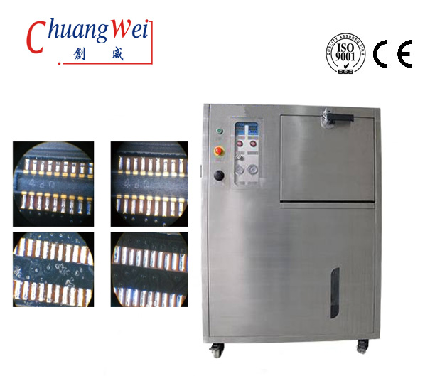 PCB Washing Machine Spray Cleaning Design With Pneumatic Control,CW-210