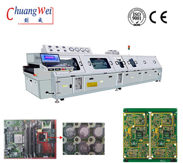 PCBA Surface Cleaning Machine For SMT Line, High Quality Washing Machine. CW-6200
