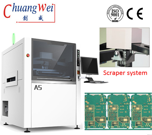 Solder Jet Paste Printing,for High Yield SMT Production,PCB Printer,CW-A5