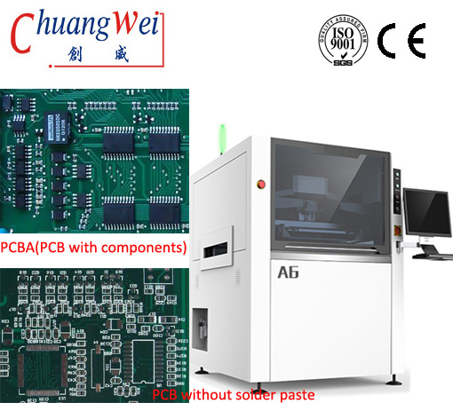 SMT Solder Paste Printer,precise Printing Machine,CW-A6