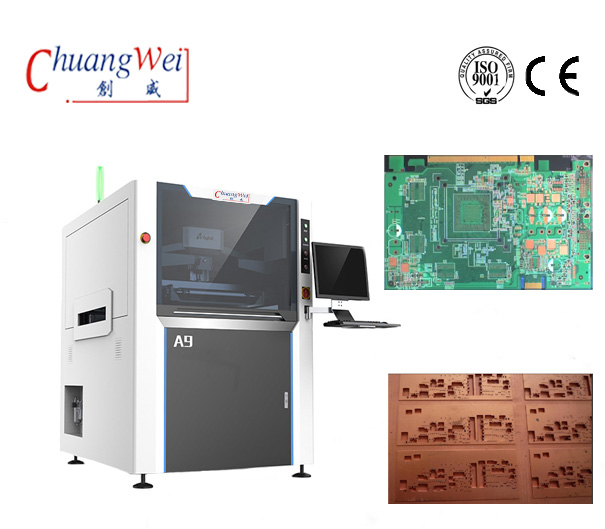 Solder Paste Printer For PCB&Stencil SMT Line Production,CW-A9