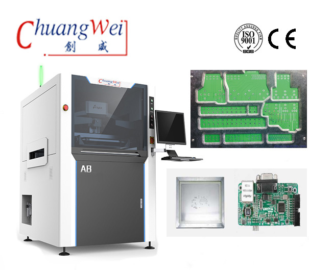 China High Precision Automatic Solder Paste Printing Equipment,CW-A8