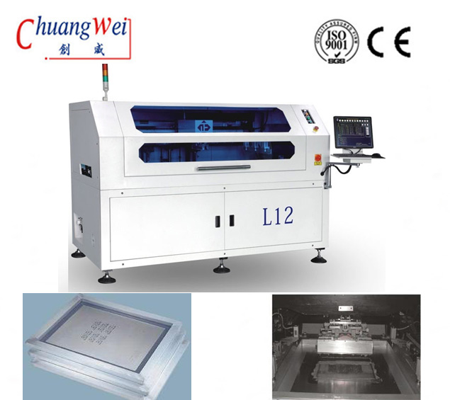 SMT Manufacturing Solder Paste Printers For PCBA Assembly,CW-L12
