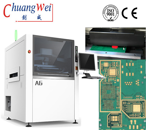 PCB/SMT Solder Paste, Stencil Printing Machine For LED& Mobile Industry,CW-A6