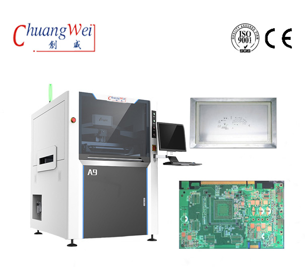 Automatic SMT Solder Paste Printing Machine,CW-A9