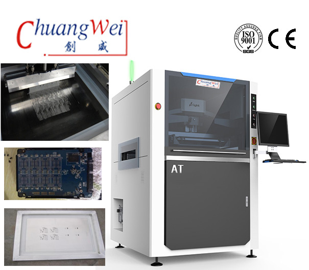 Stencil/PCB Printing Machine For Solder Paste,CW-AT