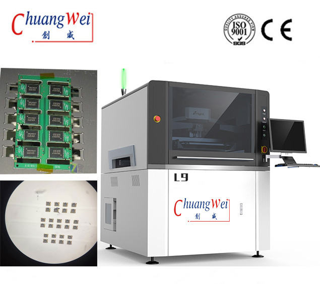 Buy Automatic Solder Paste Jet Printing Machine,CW-L9