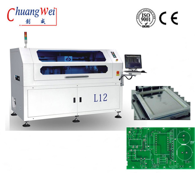 Automatic Solder Paste Printing Machine/ Stencil Printer Equipment,CW-L12
