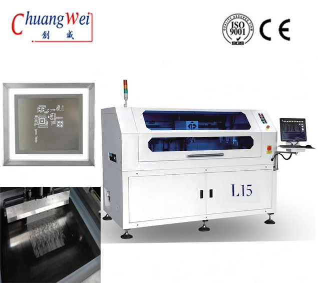 Manufacturer of Good Screen /Stencil Printer For SMT,CW-L15