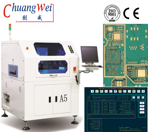 China SMT Solder Paste Printer/Tin Paste Printer/Screen Printer,CW-A5