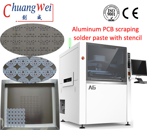 PCB/Stencil Automatic Solder Paste Printing Machine From Chinese Manufacturer,CW-A6
