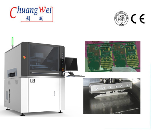 High Accuracy, Speed, and Quality Screen Printer of Solder Paste,CW-L8