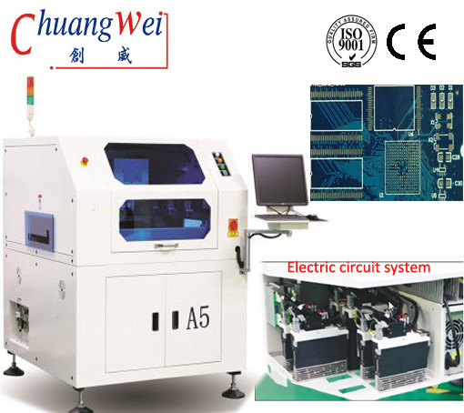 SMT Stencil Printing Machine For Printing PCB With Solder Paste,CW-A5