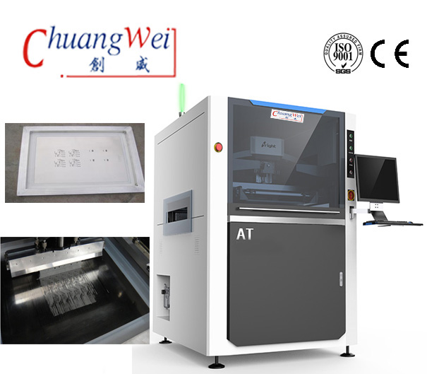 PCB Solder Paste Printing Machine,Stencil Printer for PCBA Assembly,CW-AT
