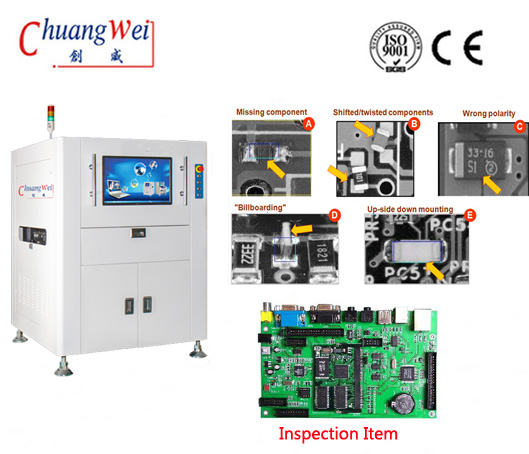 AOI for PCB Manufacture SMT Product Equipment,CW-B586