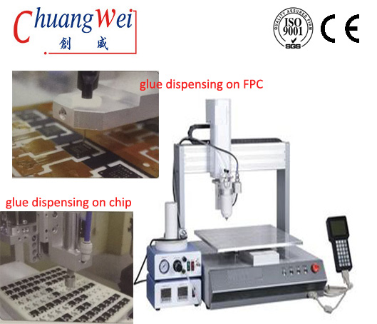 Automatic Glue Dispensing Machine for SMT PCB Assembly,CW-7000N