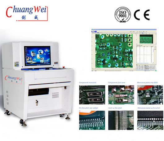 SMT PCB LED Automated Optical Inspection AOI Equipment,CW-Z5X