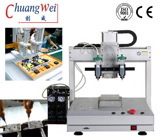 High Precision Automated Glue Dispenser for PCBA Assembly,CW-D