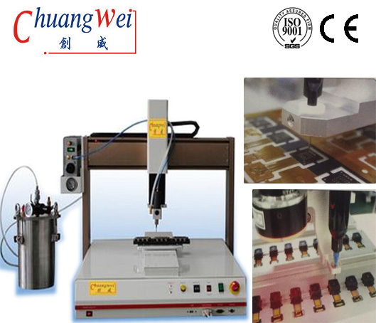 Automatic Double Head Dispensing Robot Glue Dispenser for Electronic Assembly,CWDJ