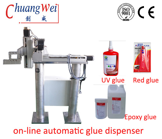 Precision Automatic Liquid Dispenser Glue Dispensing Equipment CE Certified,CW-F