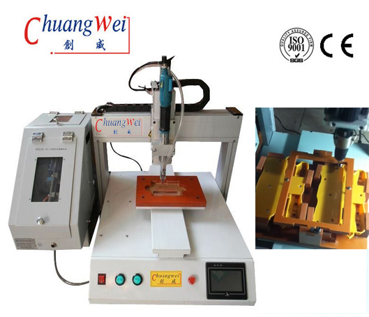 Single Station Desktop Automatic Screw Tightening Machine,CWSD-XY