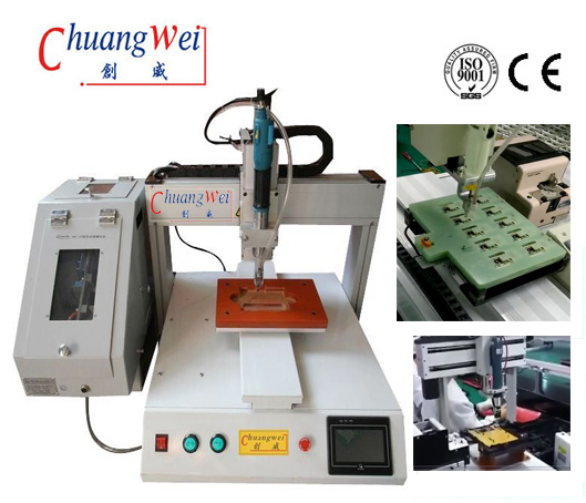 Single Spindle Screw Assembly Machine Screw Machine for SMT Line,CWSD-XY
