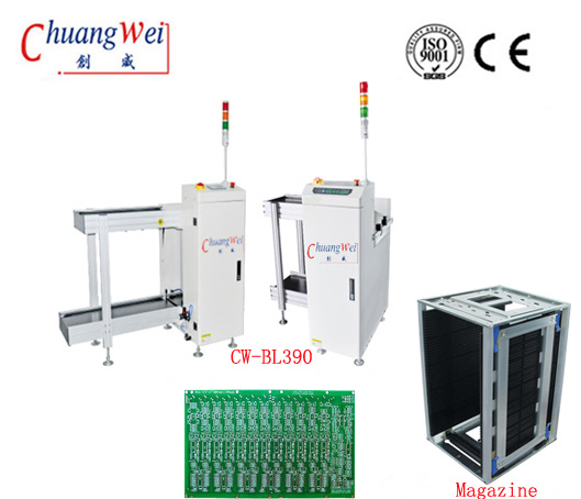 Automatic SMT PCB loader machine for PCB Assembly Line,CW-BL390