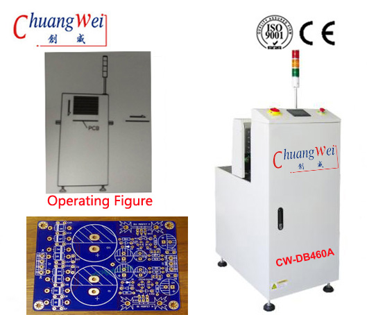 PCB Loader Supplier/SMT Loader/Loader Machine/Stacking Loader,CW-DB460A