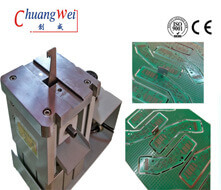High Accuracy Professional PCB Pneumatic Nibbler With Pneumatic Control,CWV-LT