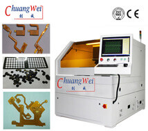 PCB Laser Depaneling Equipment | Laser Depaneling of Flex PCB ,CWVC-5S
